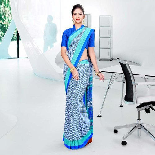 Ladies Chiffon Fancy Printed Saree