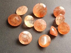 Sunstone Faceted