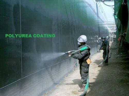 Polyurea Spray Coating