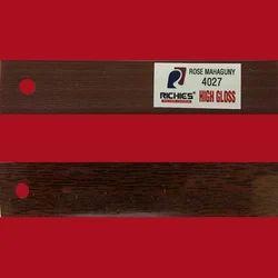 Rose Mahaguny High Gloss Edge Band Tape