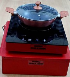 Solar DC Induction Cooker