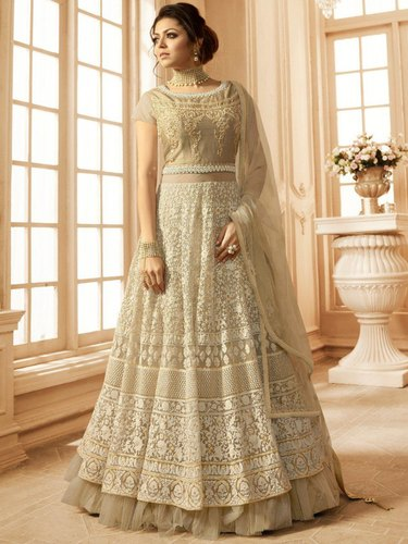 469ee98221 Ethnic Semi-Stitched Banglory Gown, Rs 1899 /piece, V.S Creation ...