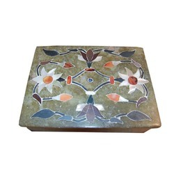 Soapstone Inlay Box