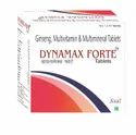 Dymamax Forte Ginseng Multivitamin & Multimineral Tablets, Packaging Size: 10 X1 X 10 Tablets, Packaging Type: Strips
