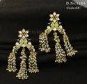Designer Peacock Pearl Earrings