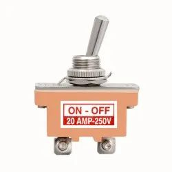SPST Heavy Duty Toggle Switch