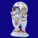 Beautiful Marble Krishna Statue