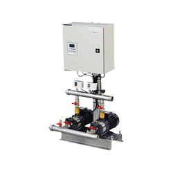 5 Bar Twin Booster System, For Commercial