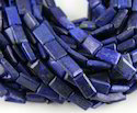 Lapis Lazuli Smooth Chicklet (Flat Rectangle)