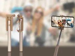 Golden Mini Foldable Selfie Stick