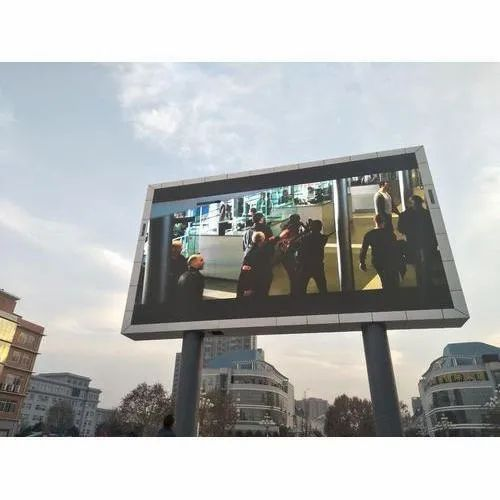 Rectangle P10 Outdoor LED Display Screen