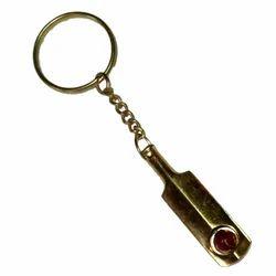 Brass Bat Keychain