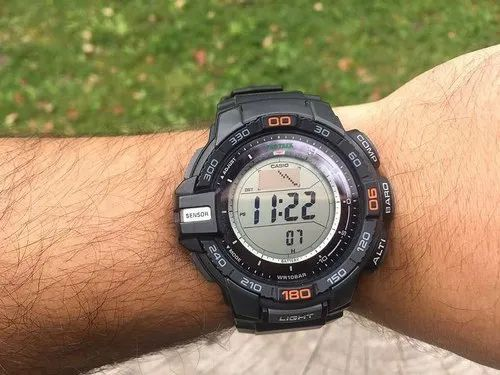 Casio Outdoor Watch -PROTREK PRG-240-1DR, केसिओ डिजिटल वॉच, केसिओ डिजिटल  घड़ी - Addisyn Teknology Inc., Ghaziabad | ID: 20603183997