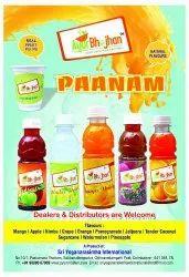Pulp Based Drinks Paanam, Packaging Type: Shrink, Packaging Size: 200 ml
