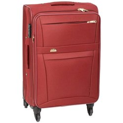 Genex Red Designer Travelling Suitcase