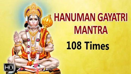 Chanting Gayatri Mantra and Hanuman Chalisa Mantra & Ruby Retailer