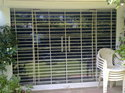 Transparent Vision Grill Rolling Shutters
