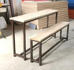 High School Bench Desk