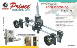 Lock Mortising Machine