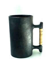 Rural Shades Handcrafted Black Stone Beer Jug