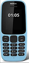 Nokia 105 (blue) Mobile Phone