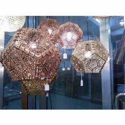 Handmade LED Pentagonal Shape Lamp for Decoration