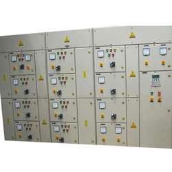 Automatic Three Phase Motor Control Panel, for PLC Automation