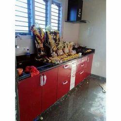 Wooden Designer Modular Kitchen