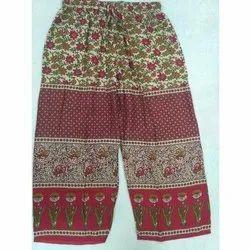 Jaipuri Print Ladies Pant/ Palazzo