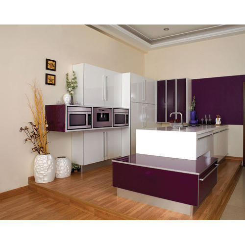 Sleek Modular Kitchen Designer