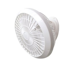 Plastic White Wall Mounted Electric Fan