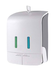 MANUAL DUAL CONTAINER SOAP DISPENSER