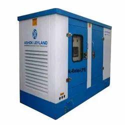 Oil Cooling Ashok Leyland Silent Generator, 220-415v