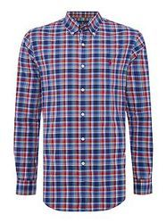 Men Satin Twill Check Shirt, Age: 18-55, Good