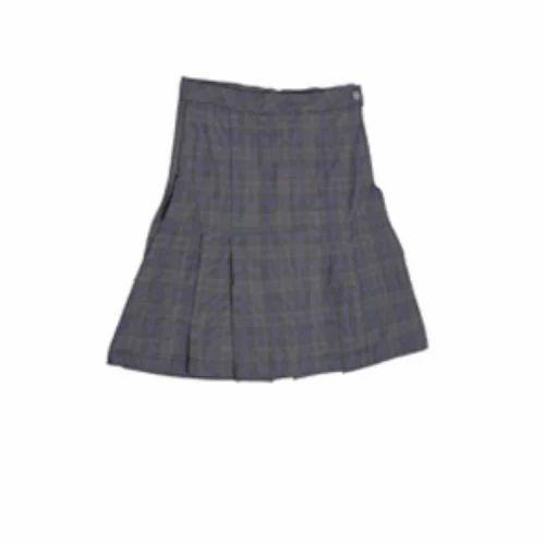 260832f1b4 M-10 Cotton Girls Check Uniform Skirt, Rs 475 /piece, M-10 Uniforms ...