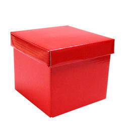 Paper Red Gift Box