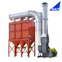 Single Phase Automatic Cartridge Dust Collector, Electric