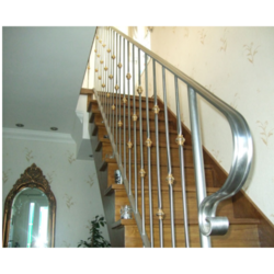 Stairs Stainless Steel Staircase Railing, For Home