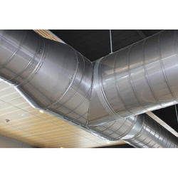 Stainless Steel Air Ducting, For Office Use