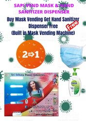 Mask Vending Machine With Inbuilt Hand Sanitizer