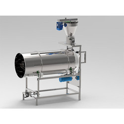 Flavouring Drum with Vibratory Feeder