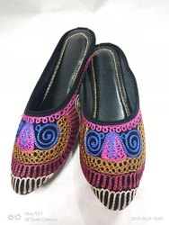 Colorful Rajasthani Back Open Juttis