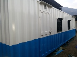 Mild Steel Prefabricated Site Offices