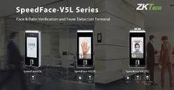 ZKTECO Face & Palm Verification And Fever Detection Terminal