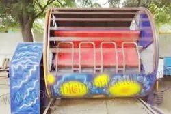 Multicolor fiber & Metal Roller Ride, for Amusement Park, Capacity: 8 Person