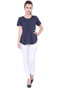 Galaxy Trendz Georgette Crepe Top