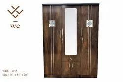 Woodline Creation Dunham 3 Door Wardrobe Set With Mirror In The Middle