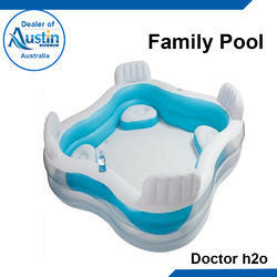Blue FRP Family Pool, for Amusement Park