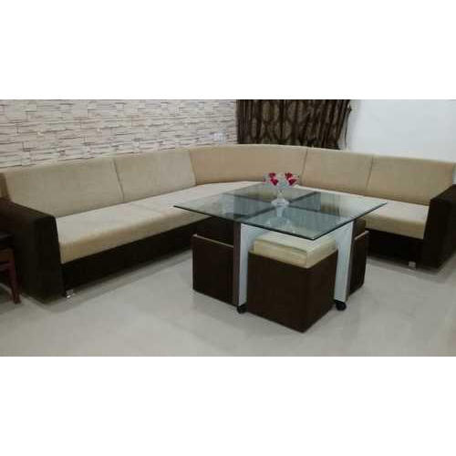 Sofa Set - Modern Wooden Sofa Set Manufacturer from Vadodara