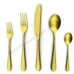 Gold cutlery Pvd  Coating Services